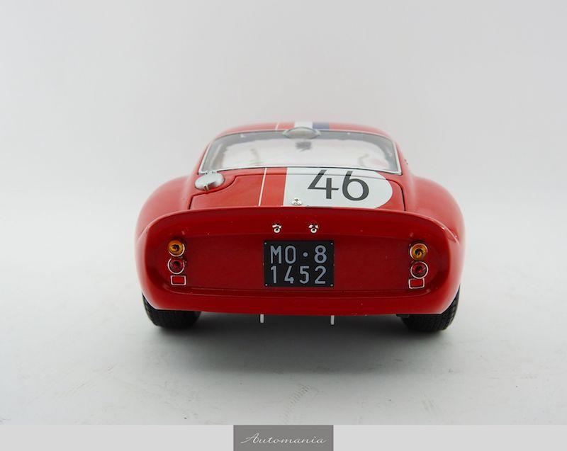 ferrari 250 gto nur #46 1963 red | | automania