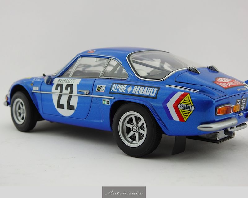 alpine renault a110 1600s 1971 monte carlo rally 3rd place 1971 automania. Black Bedroom Furniture Sets. Home Design Ideas