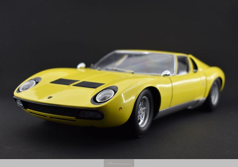 Lamborghini Miura Yellow Automania