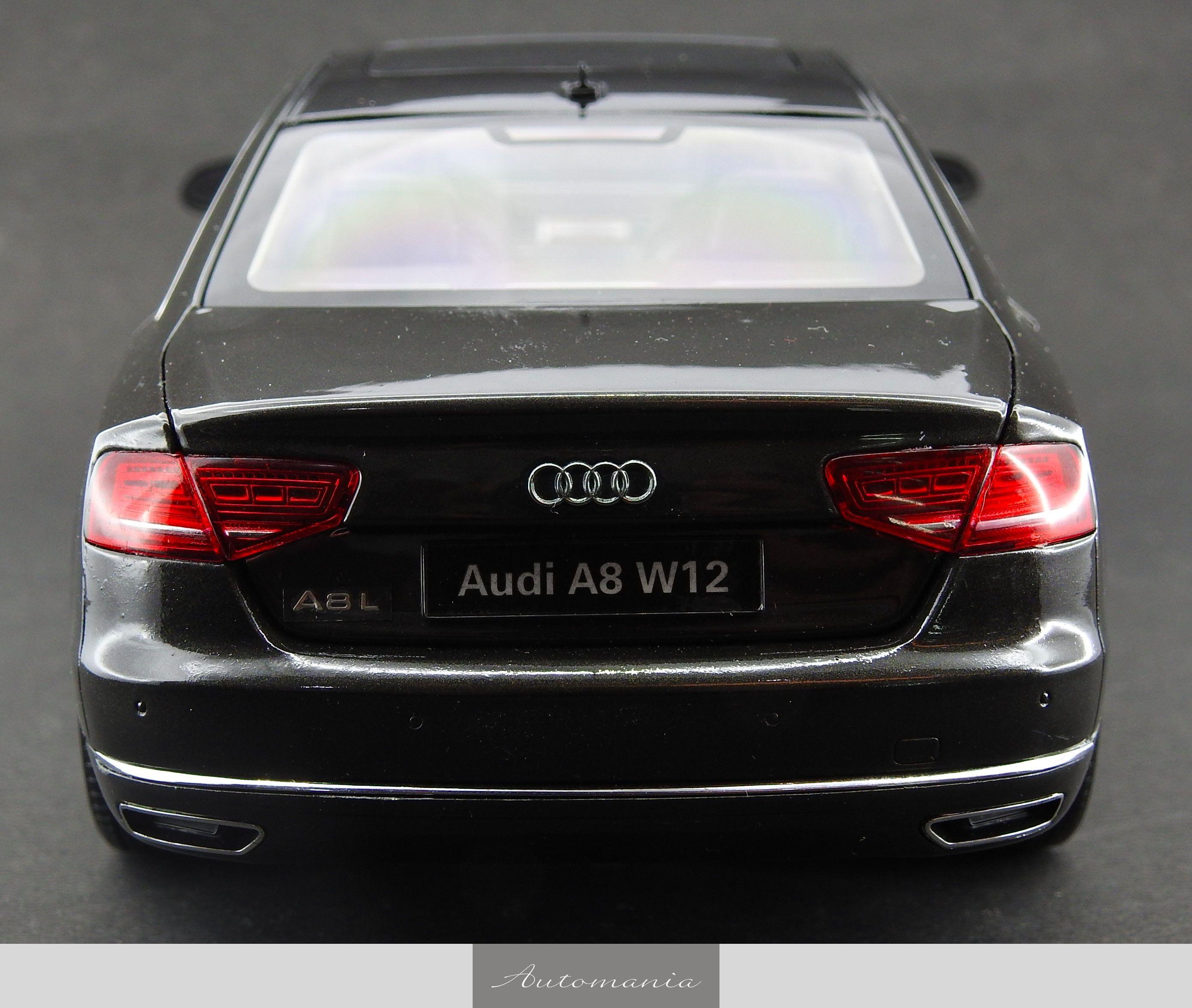 Audi A8 W12 2010 Oolong Grey
