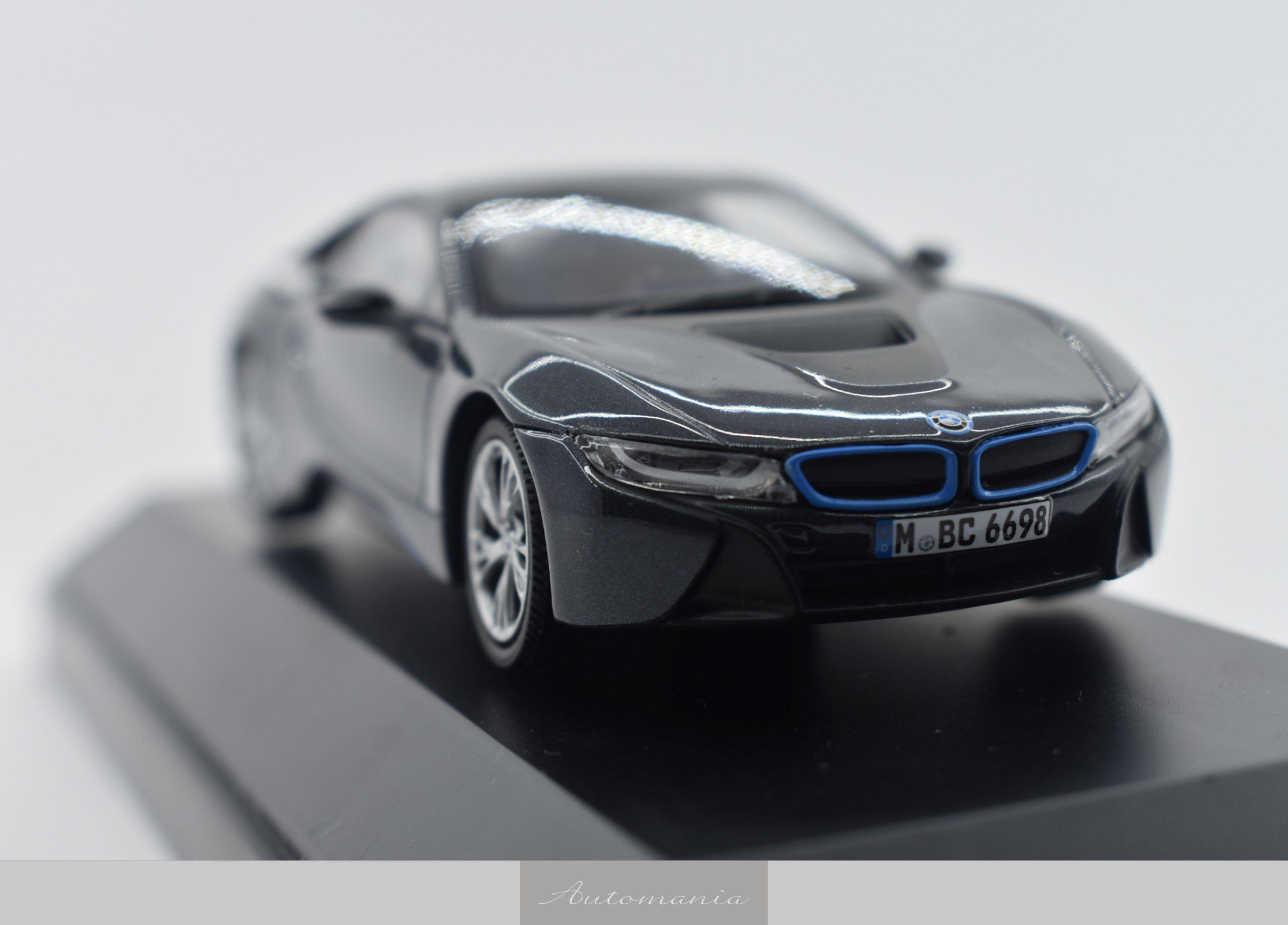 Bmw I8 Sophisto Grey Blue Matt Automania