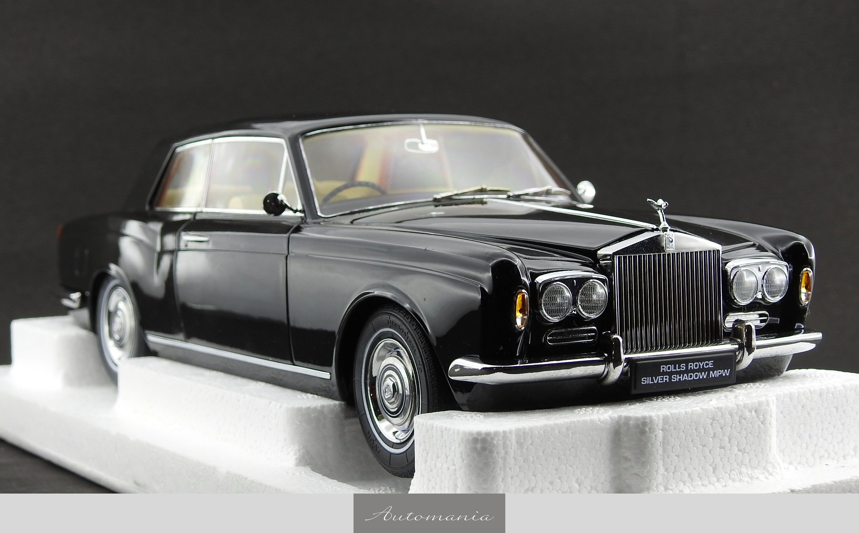 rolls royce silver shadow mpw 2 door coupe black automania. Black Bedroom Furniture Sets. Home Design Ideas