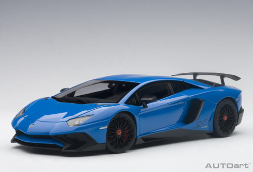 Lamborghini, Aventador, Lp750, 4, Sv, Blu, Lemans, Blue, , Miniature, Diecast, Scale, Model, Cars, India, Automania