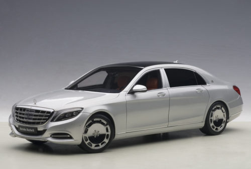 Mercedes, Maybach, S, Klasse, S600, Silver, , Miniature, Diecast, Scale, Model, Cars, India, Automania