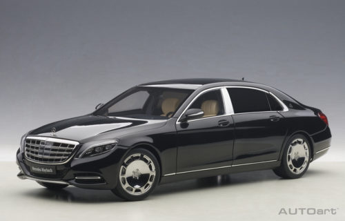 Mercedes, Maybach, S, Klasse, S600, Black, Miniature, Diecast, Scale, Model, Cars, India, Automania