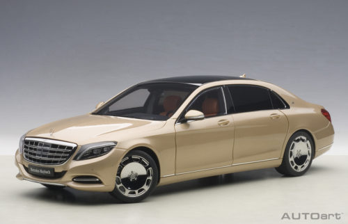Mercedes, Maybach, S, Klasse, S600, Champagne, Gold, , Miniature, Diecast, Scale, Model, Cars, India, Automania