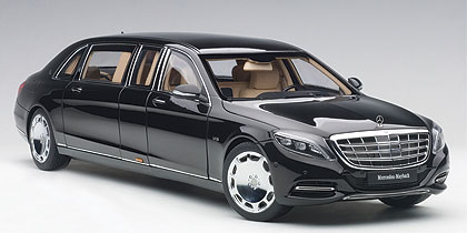Mercedes, Maybach, S, 600, Pullman, Black, , Miniature, Diecast, Scale, Model, Cars, India, Automania