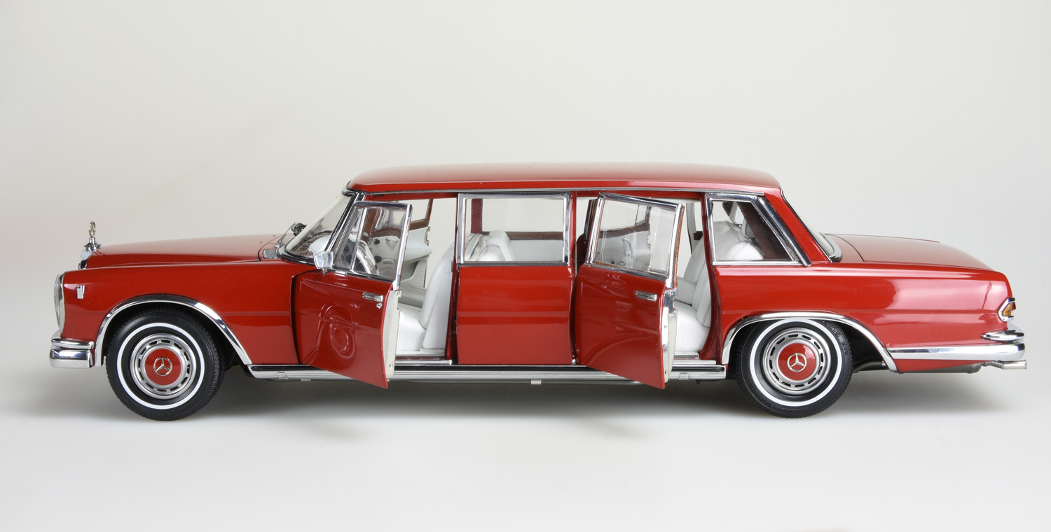 """Mercedes-Benz 600 Pullman """"Red Baron"""" Limited Edition 800 ..."""